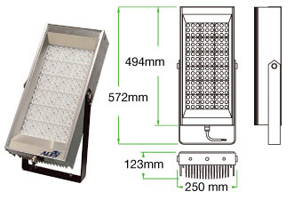 Lodestar F04 LED floodlight