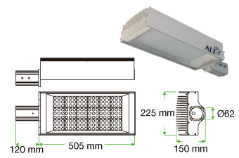 Lodestar S04 LED streetlight